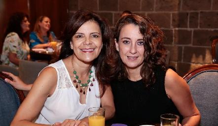 Patricia Silos y Gloria Martínez.