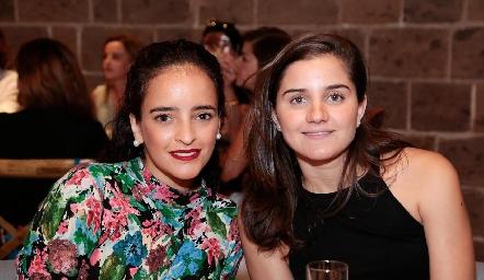 Isa Torres y Eugenia Musa.