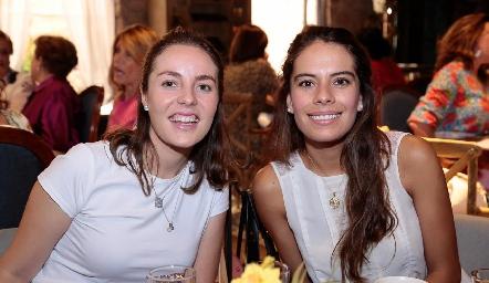 Tere Ledezma y Olga Rojas.