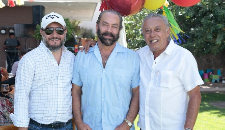Carlos Díaz de León, Óscar Torres Corzo y Carlos Díaz de León.
