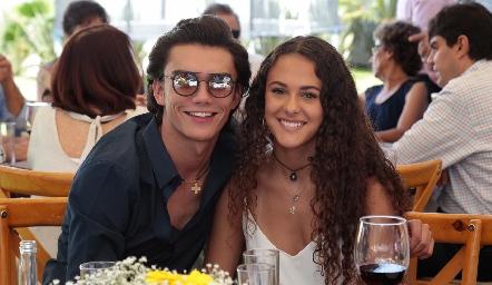 Jaime Ruiz y María Meade.