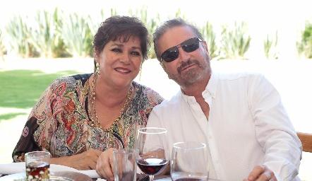 Patricia Torres Corzo y Jaime Alvarado.