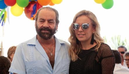 Óscar y Mónica Torres.