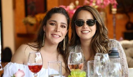 Lorena de la Parra y Alejandra Salinas.