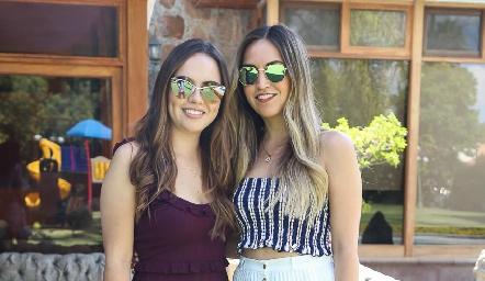 María José Valle y Susy Levenez.