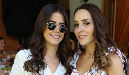 Fernanda González y  Ximena Castillo.
