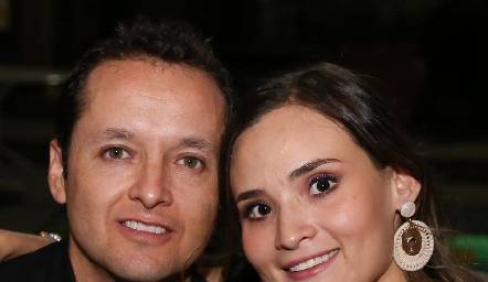 Manuel Paredes y Paulina Tello.