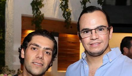 José Lorca y Miguel Duarte.