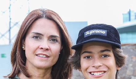 Fernanda Félix y Manuel González.