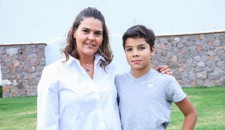 Gaby Díaz Infante y Mau Vera.
