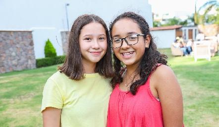 Mariana y Vanesa.