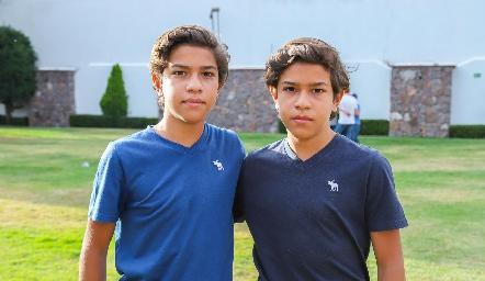 Pablo y Andrés.