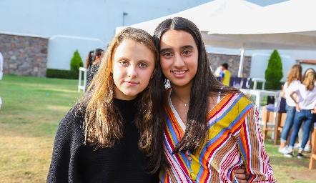 Nuria y María.