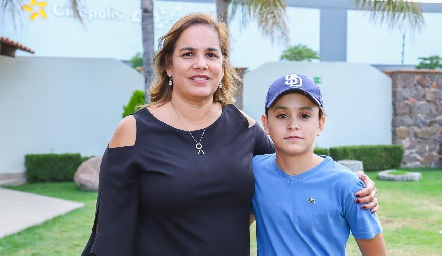Nena Aguirre y Juan Pablo.