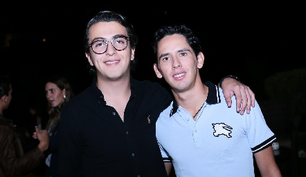 Alejandro Anaya y Fer Santibáñez.