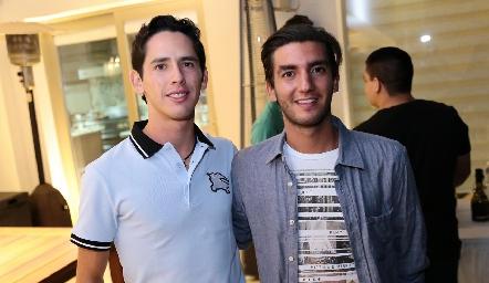 Fer Santibáñez y Elías Navarro.