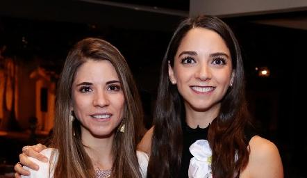 Isa y Sofía Álvarez.
