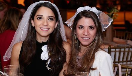 Sofía e Isa Álvarez.