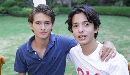 Ro Pérez y Juan Pablo.