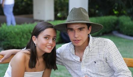 Aurora Torres y Eduardo Siller.