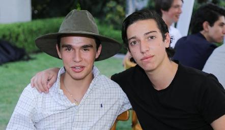 Eduardo Siller y Juan Pablo Dip.