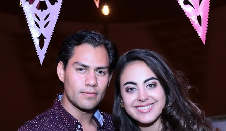 Joel González y María Paula Gómez.