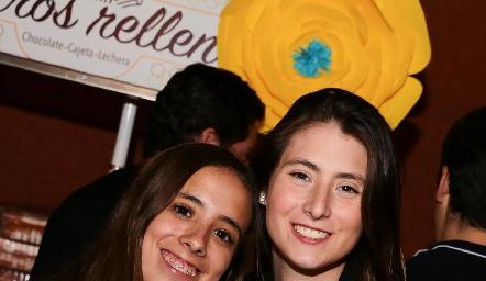 Paty Silva y Nuria Oliva.