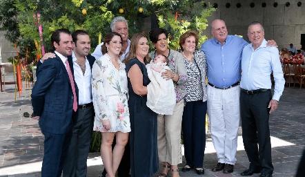 Familia Pérez Sarmiento.
