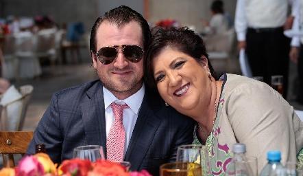 Óscar Pérez y Patricia Sarmiento.