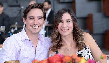 José Delsol y Laura Medellín.