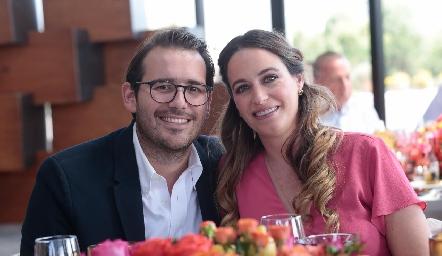 Eleazar Rojas y Ana Urquiza.
