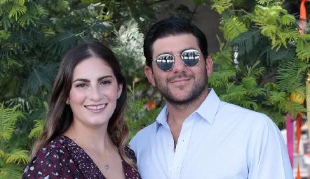 Andrea Hage y Juan Abdo.
