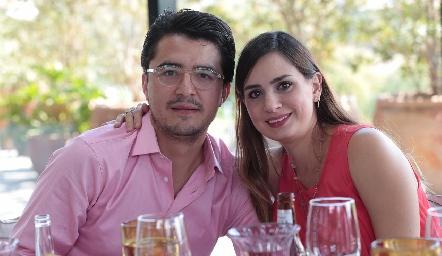 Adrián Martínez y Montserrat Muñiz.