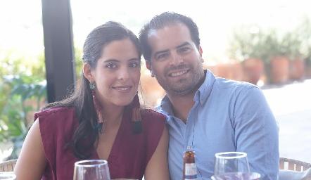 Estefanía Díaz Infante y José Antonio Gutiérrez.