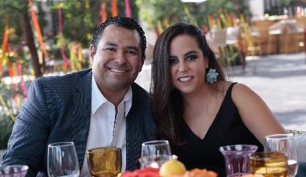 Alejandro y Ana Isa Torres.