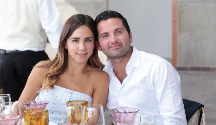 Ivette Lomelín y Rodolfo Castañeda.