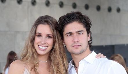 Ana Paula López y Pollo Acevedo.
