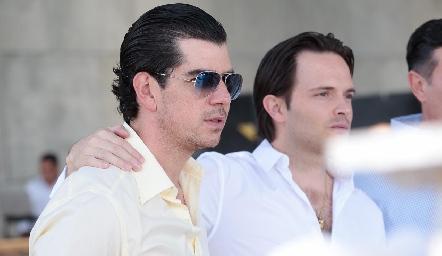 Alejandro Valladares y Tito Herrera.