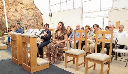 Bautizo de Sofía Pérez López.