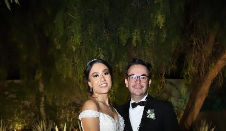 Andrea González y Alberto Lozano.