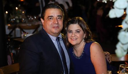 José Luis González y Margaret Lozano.