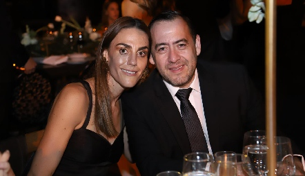 Paulina Lozano y Jorge Rivera.