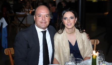 Rafael Espinosa y Nuria Lozano.