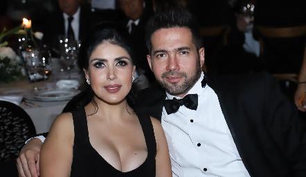 Marisol Huerta y Mario Lozano.