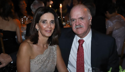 Pilar Martínez y Alejandro Hernández.
