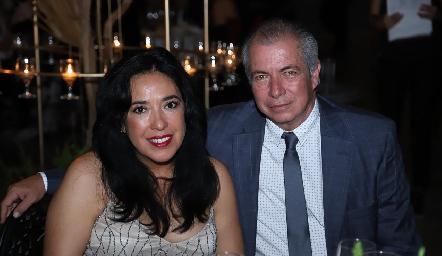 Carolina Ortiz y Daniel Medina.