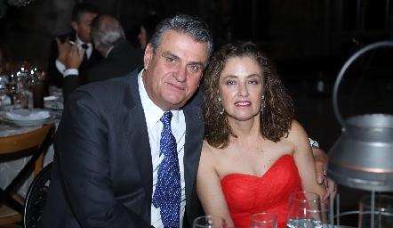 José Luis Torre y Conchita Gutiérrez.