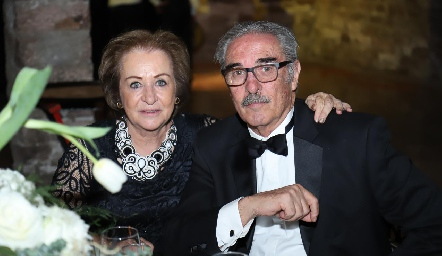Luz María y Antonio Rubín de Celis.