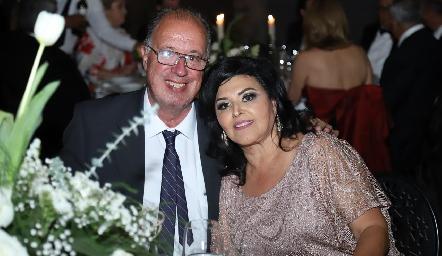 Samuel y Diana Romo.