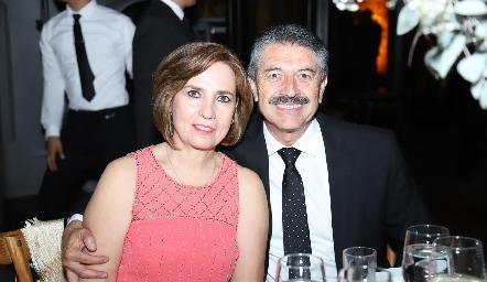 Patricia y Gustavo Hernández.